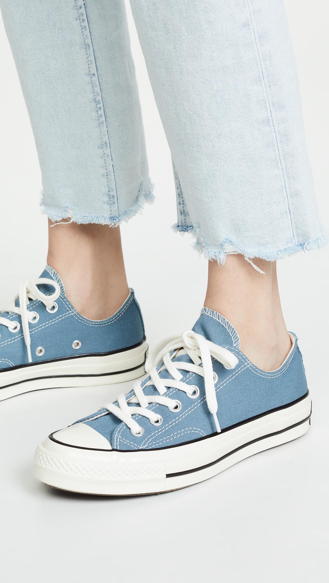 c51f570cd0c9 Converse - Blue Chuck  70s Vintage Ox Sneakers - Lyst. View fullscreen