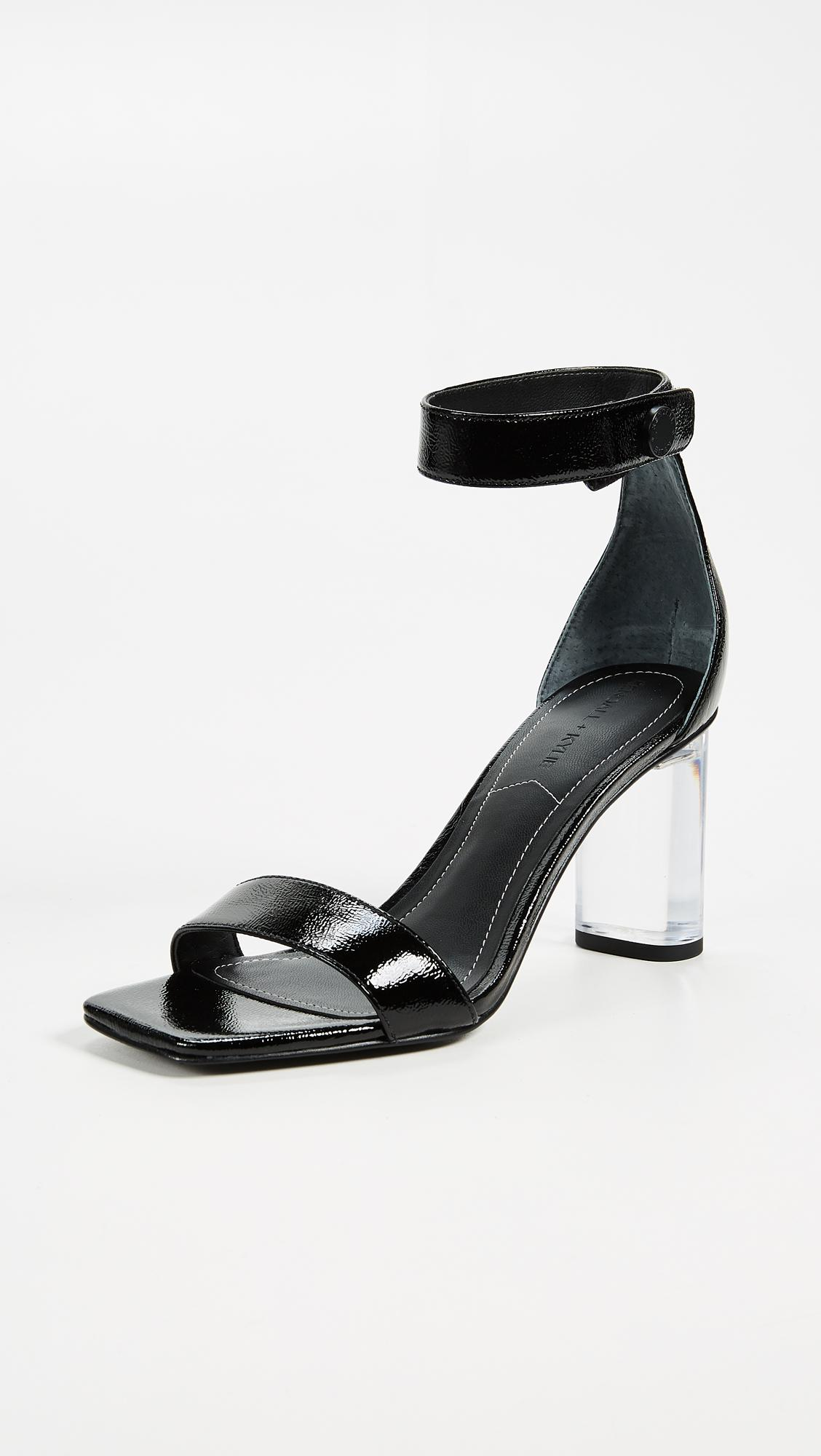 KENDALL + KYLIE Women's Lexx Ankle Strap Sandal