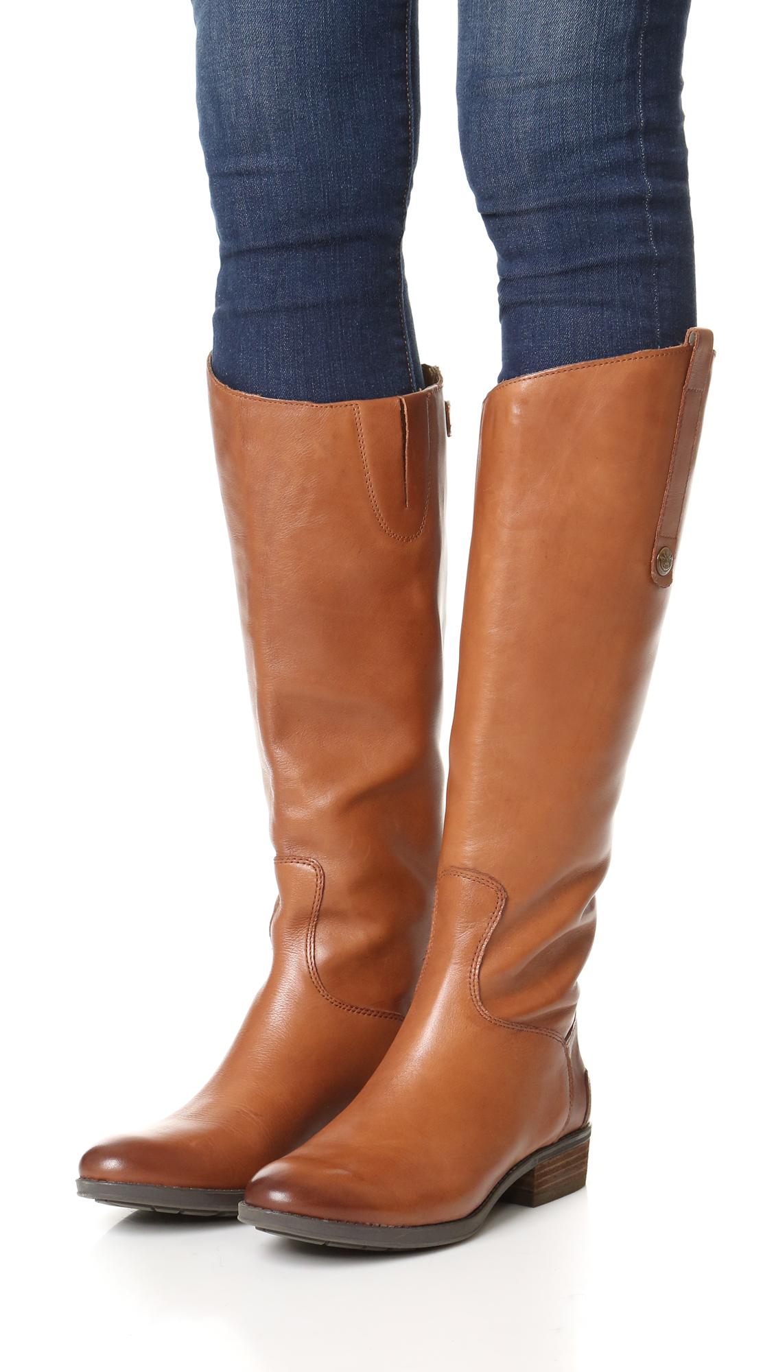 b4c751b62 Sam Edelman - Brown Penny Riding Boots - Lyst. View fullscreen