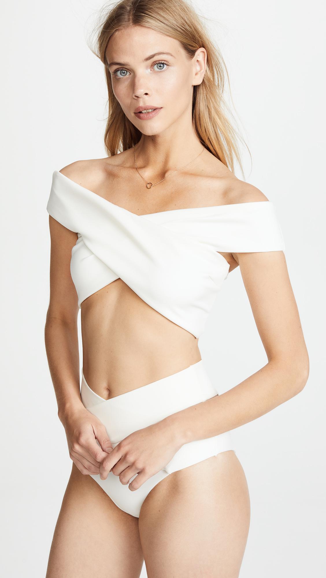 fc832d8074103 Lyst - Kopper   Zink Mila Bikini Top in Natural