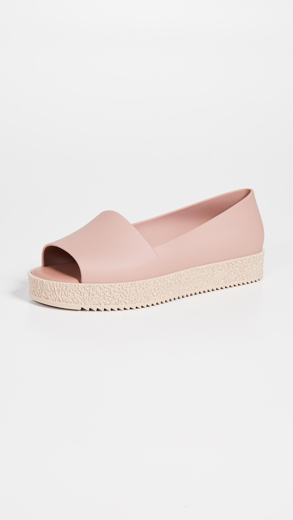 8c4c1f0c8aa Lyst - Melissa Puzzle Ad Flats in Pink
