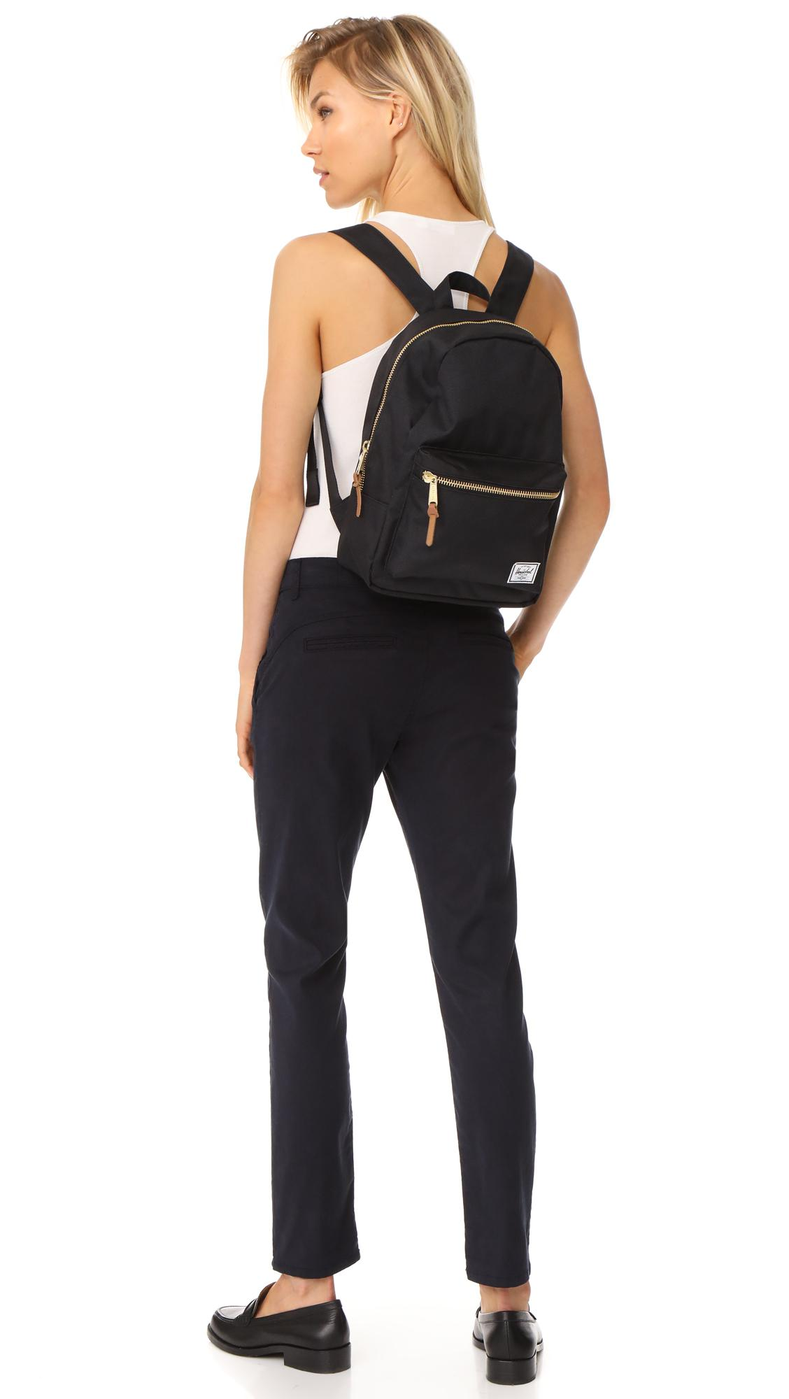 32c6171e99f Herschel Supply Co. - Black Grove X-small Backpack - Lyst. View fullscreen