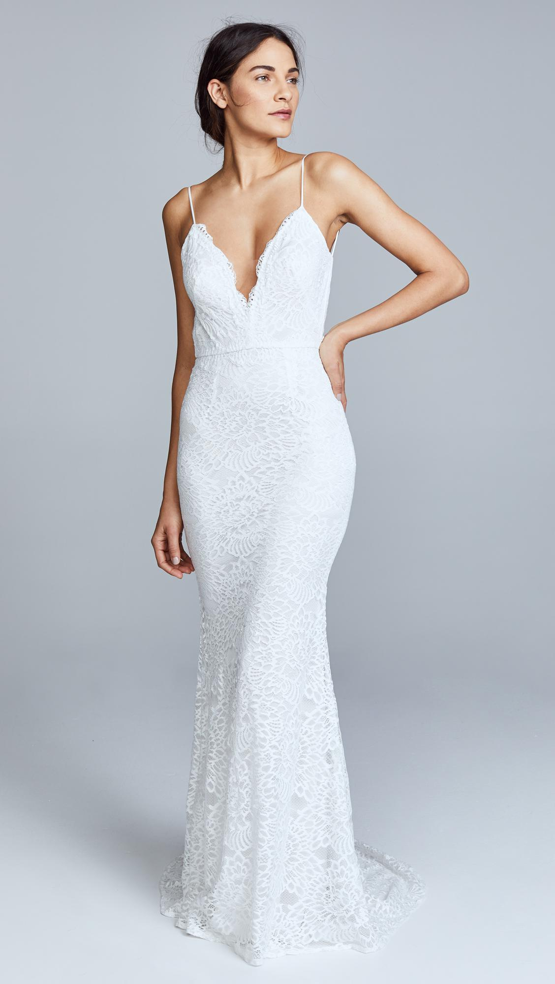 Lyst - Katie may Noel And Jean By Constance Gown in White