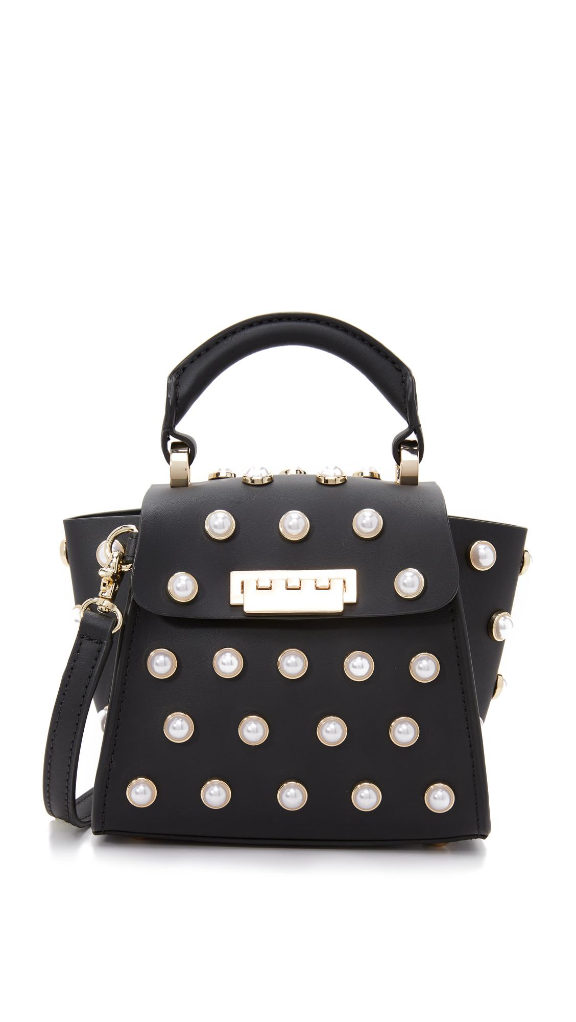 Zac Zac Posen Eartha Imitation Pearl Cross Body Bag In