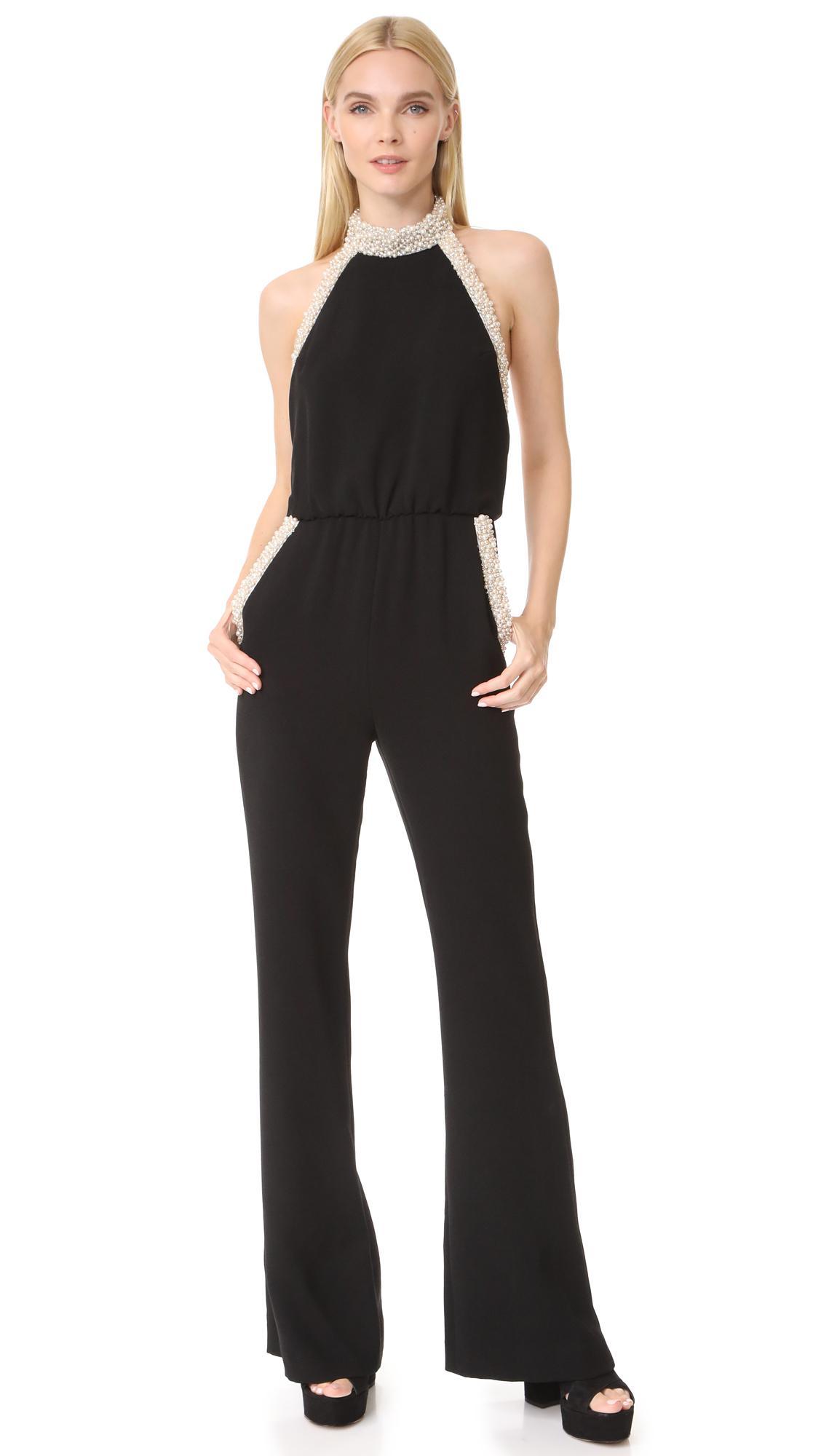 d25760ae4fd4 Lyst - Rachel Zoe Elinor Jumpsuit in Black