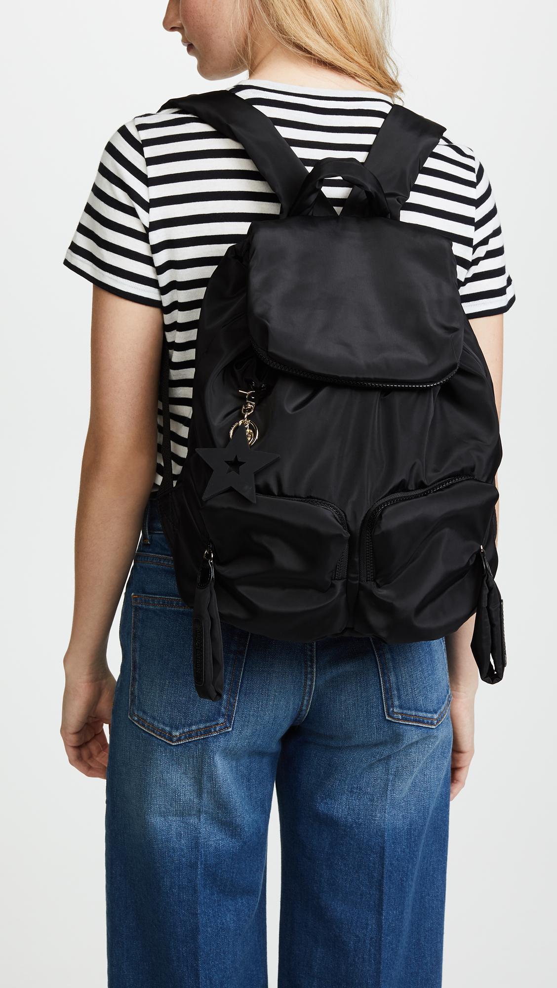 See By Chloé - Black Joyrider Backpack - Lyst. View fullscreen 521913c974a1e