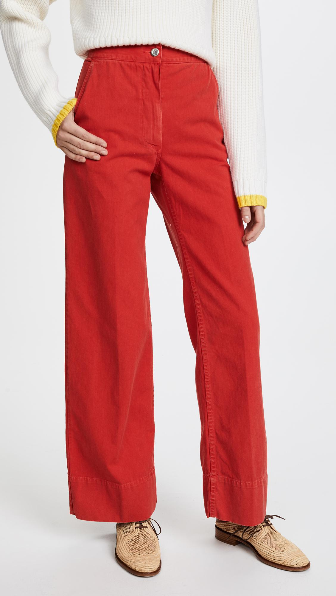 Clean Bishop Wide Leg Corduroy Pants Rachel Comey Shopping Online With Mastercard Cheap Authentic Best Prices Cheap Sale Reliable Sale Shop Offer iVyD4BHsu