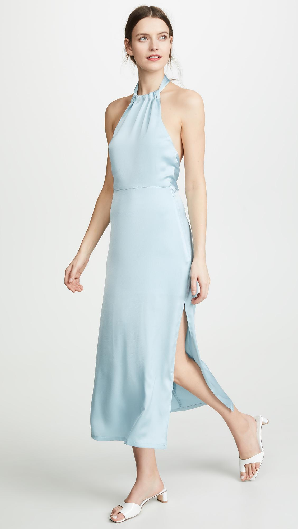 070f3fb9a51284 Lyst - VEDA Naples Dress in Blue