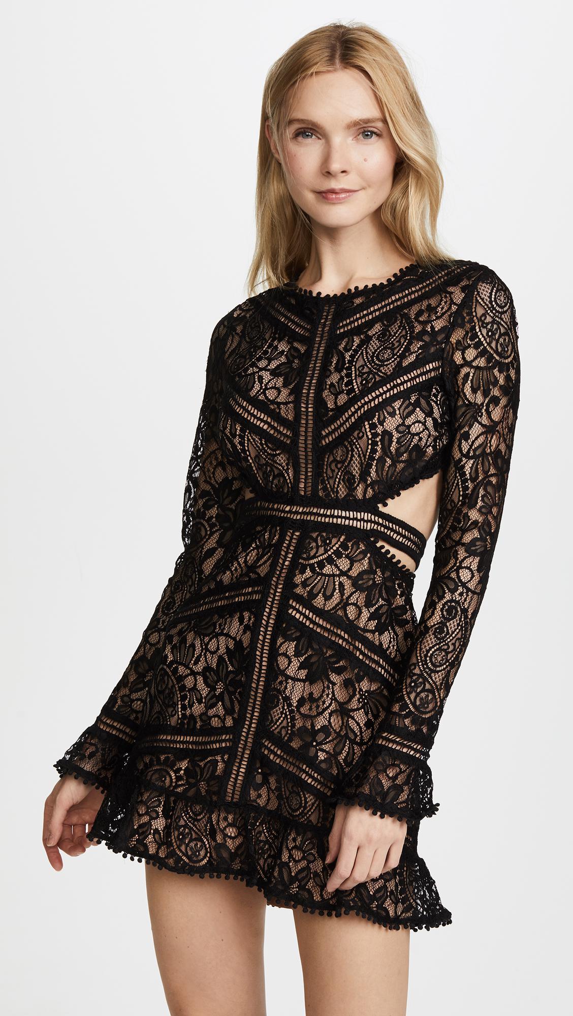 20b25e7d458e5 ... Love & Lemons - Black Emerie Cutout Dress - Lyst. Visit Shopbop. Tap to  visit site
