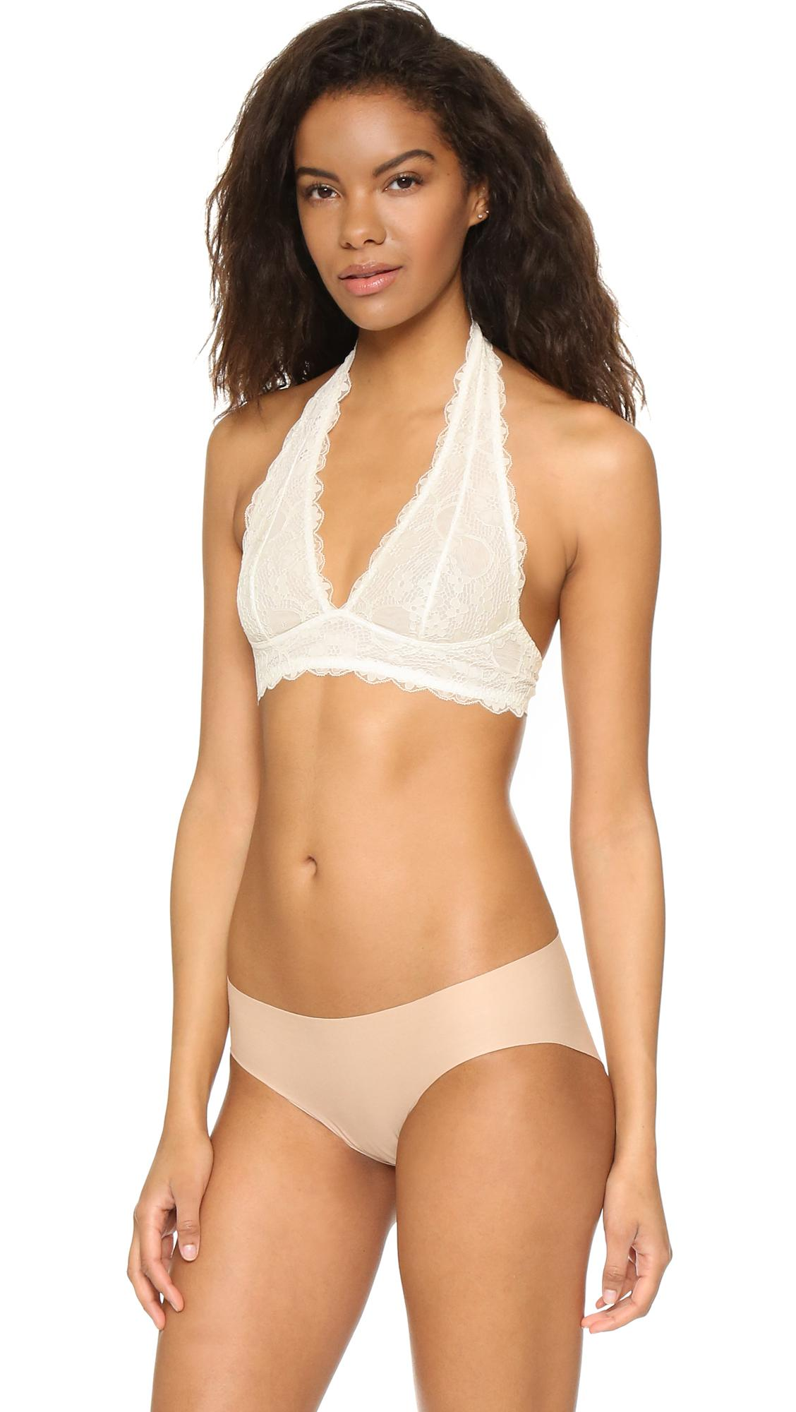 Very Cheap Halter Bra - Ivory Free People Buy Cheap Outlet Store Discount Footlocker Brand New Unisex Sale Browse kPFwNY