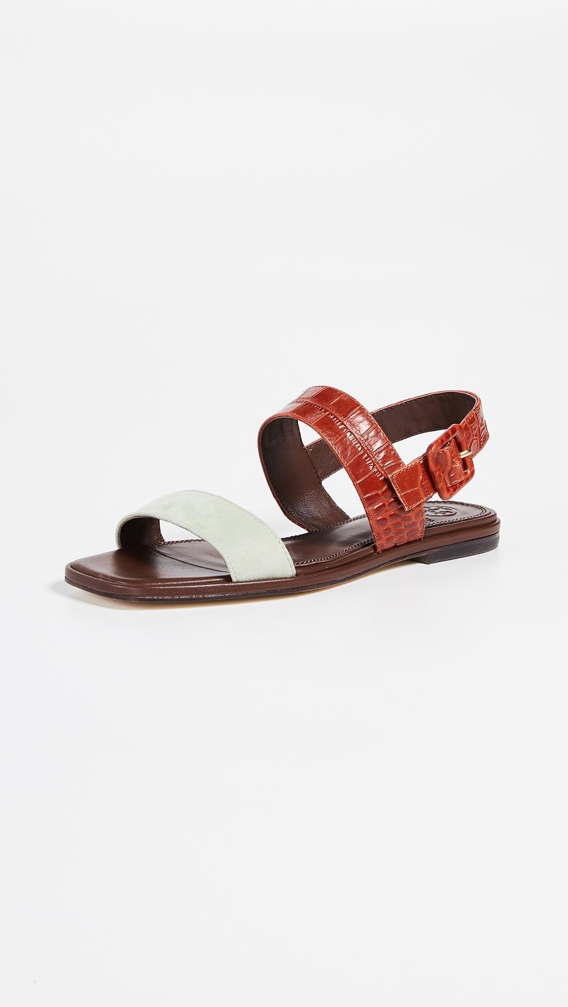 d6ecb5856e40 Tory Burch. Women s Delaney Flat Sandals