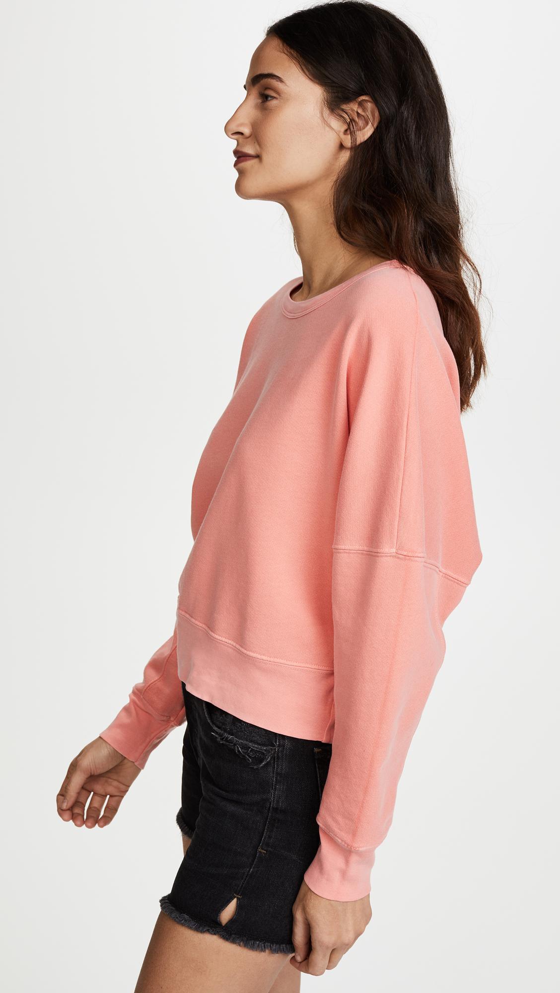 Stateside | Pink Raglan Sweatshirt | Lyst. View Fullscreen