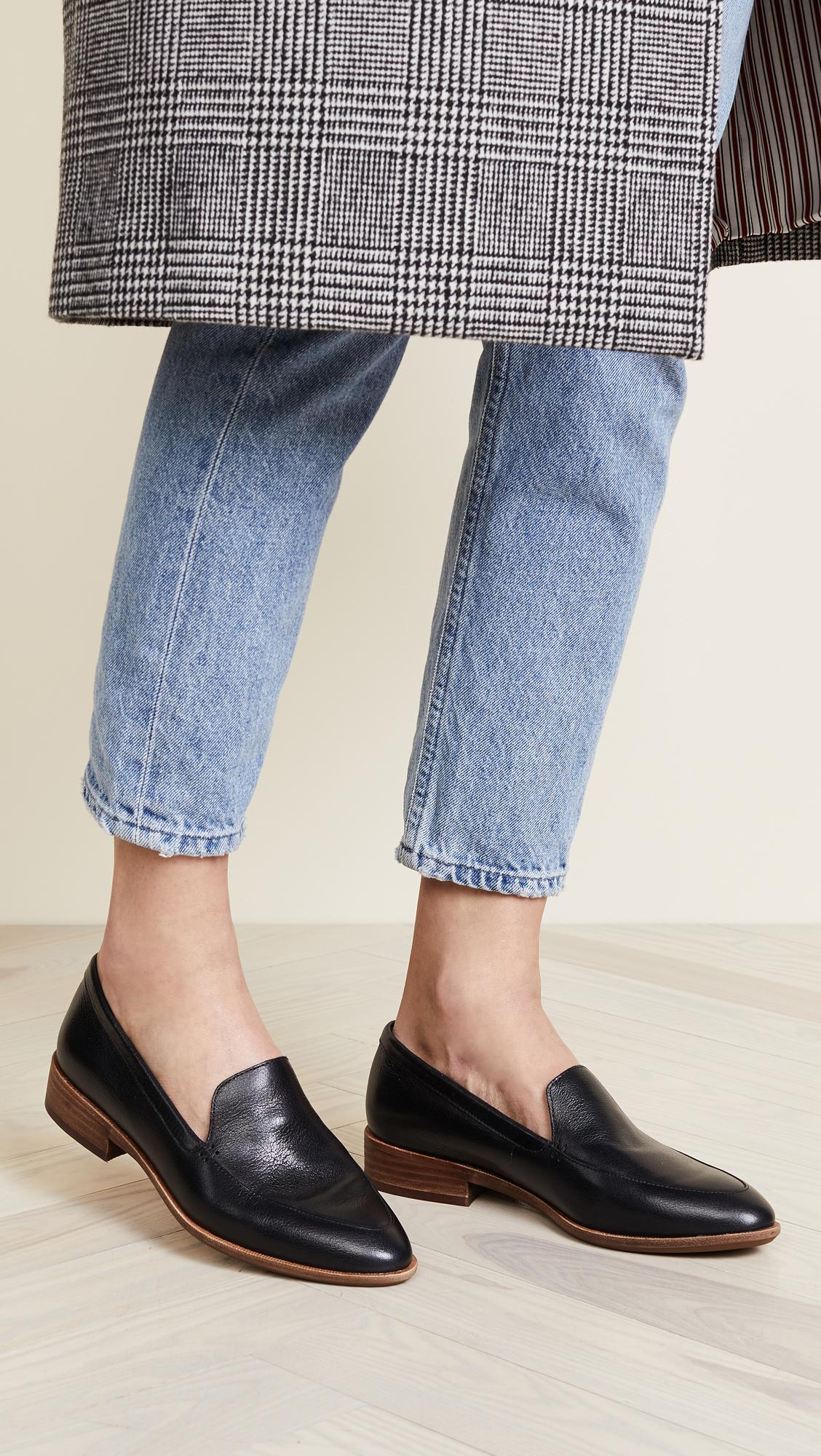 77614bdee6c Lyst - Madewell Perin Loafers in Black