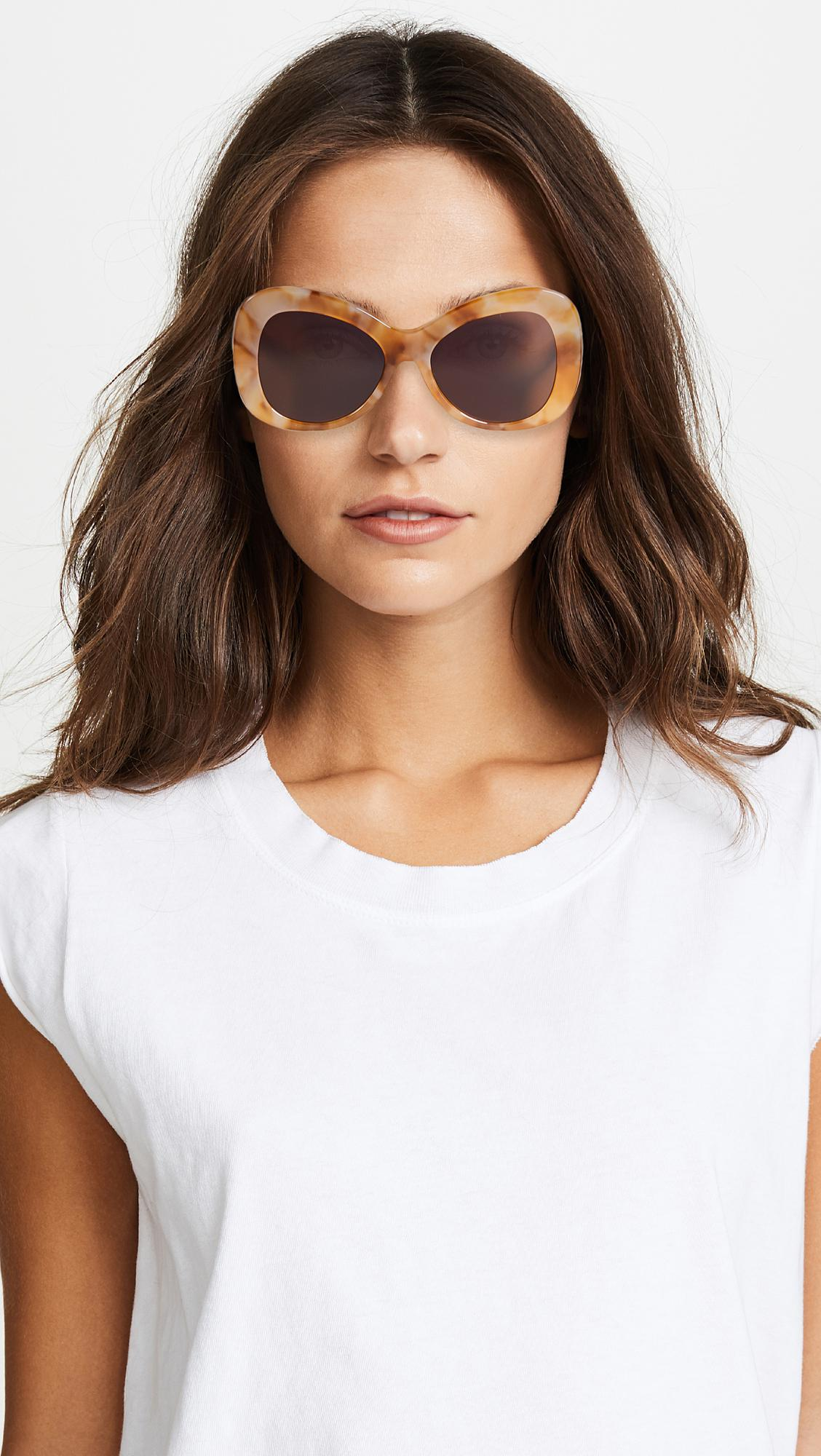 1c2656df46 Lyst - Elizabeth and James Palmer Sunglasses in Brown