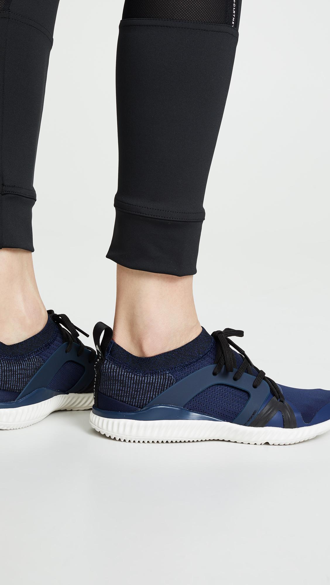uk availability 347d4 69ab9 Adidas By Stella McCartney - Blue Crazytrain Pro Sneakers - Lyst. View  fullscreen