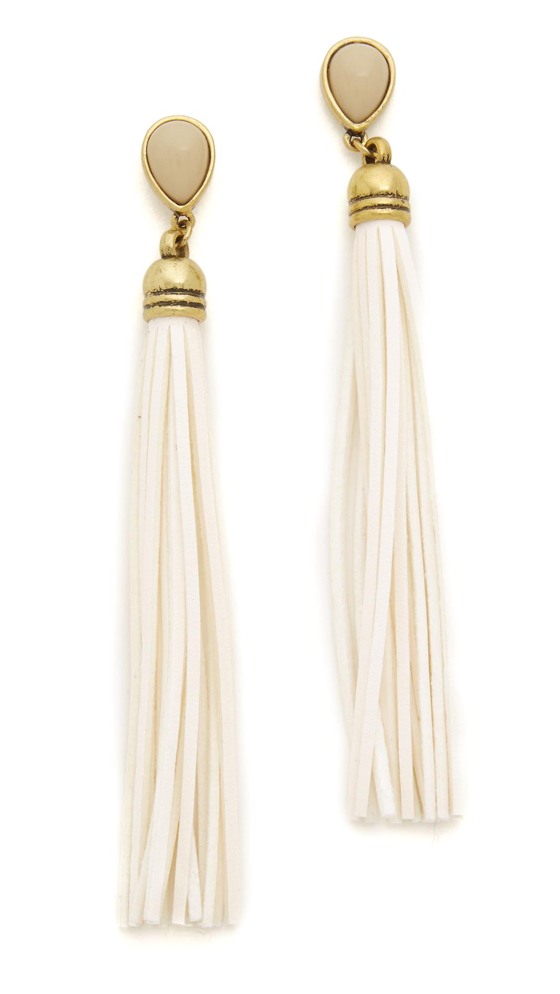 Adia kibur Stella Earrings in Metallic