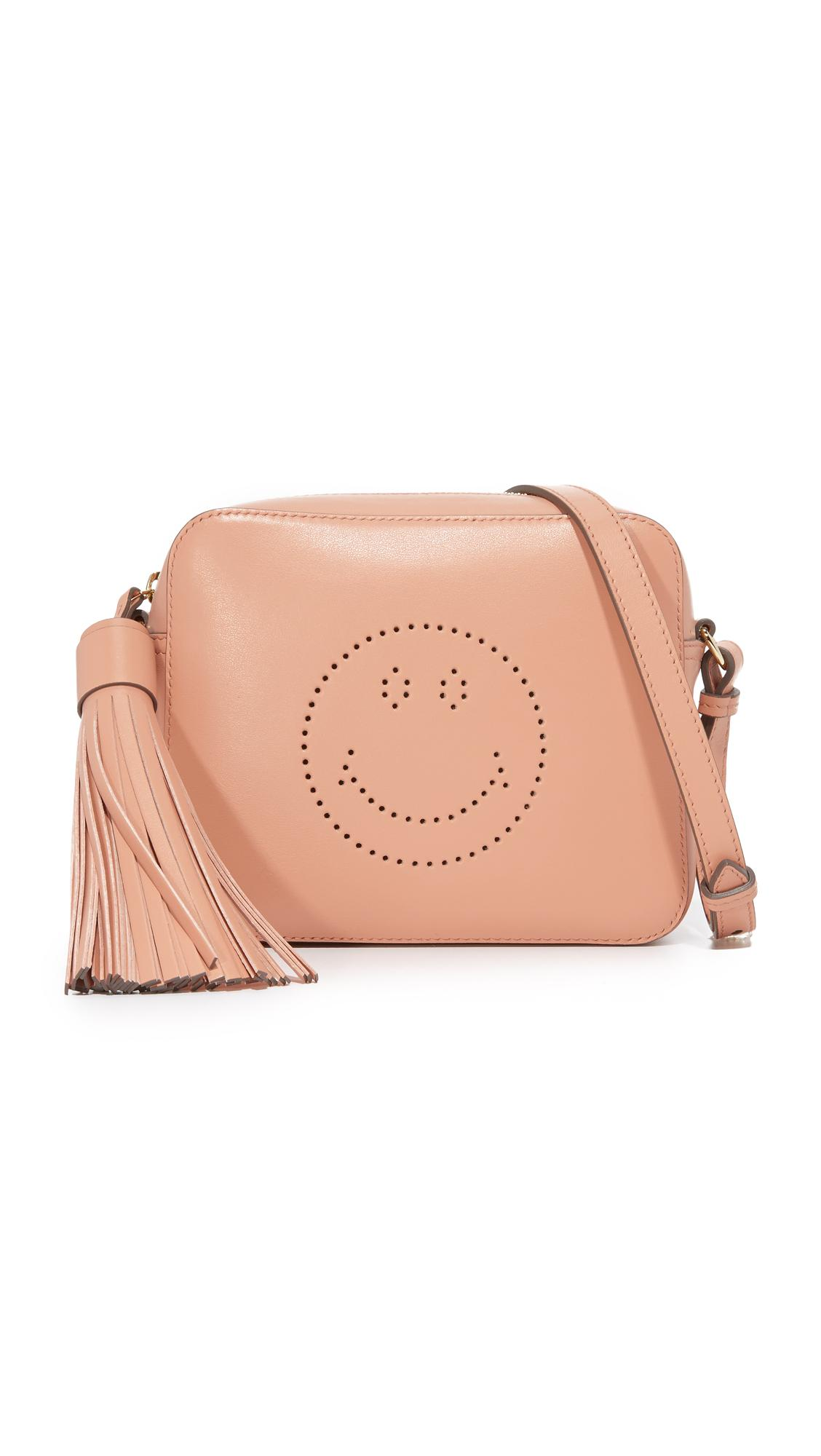 anya hindmarch smiley cross bag lyst