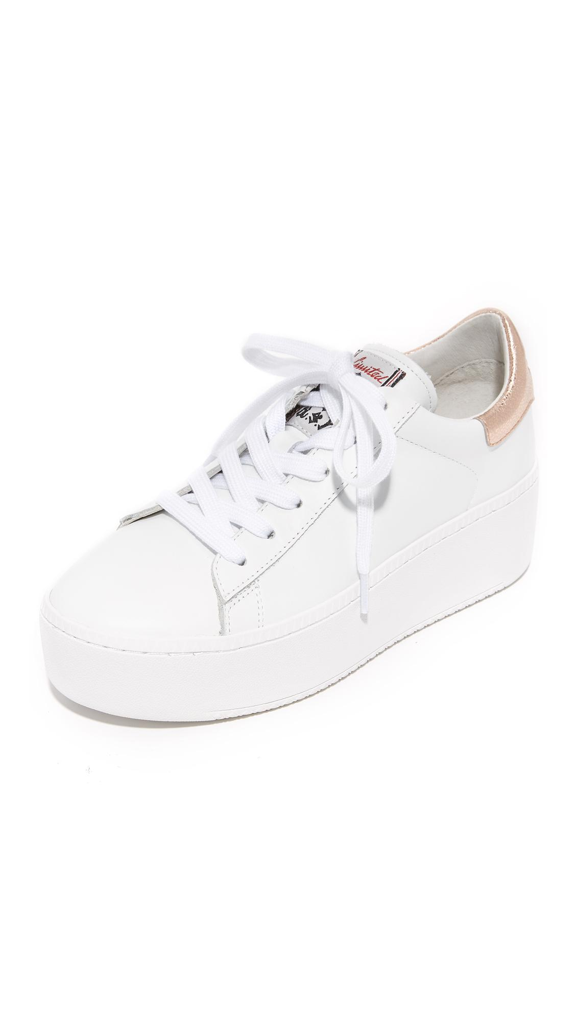 56401f5be940 Ash Cult Platform Sneakers in White - Lyst