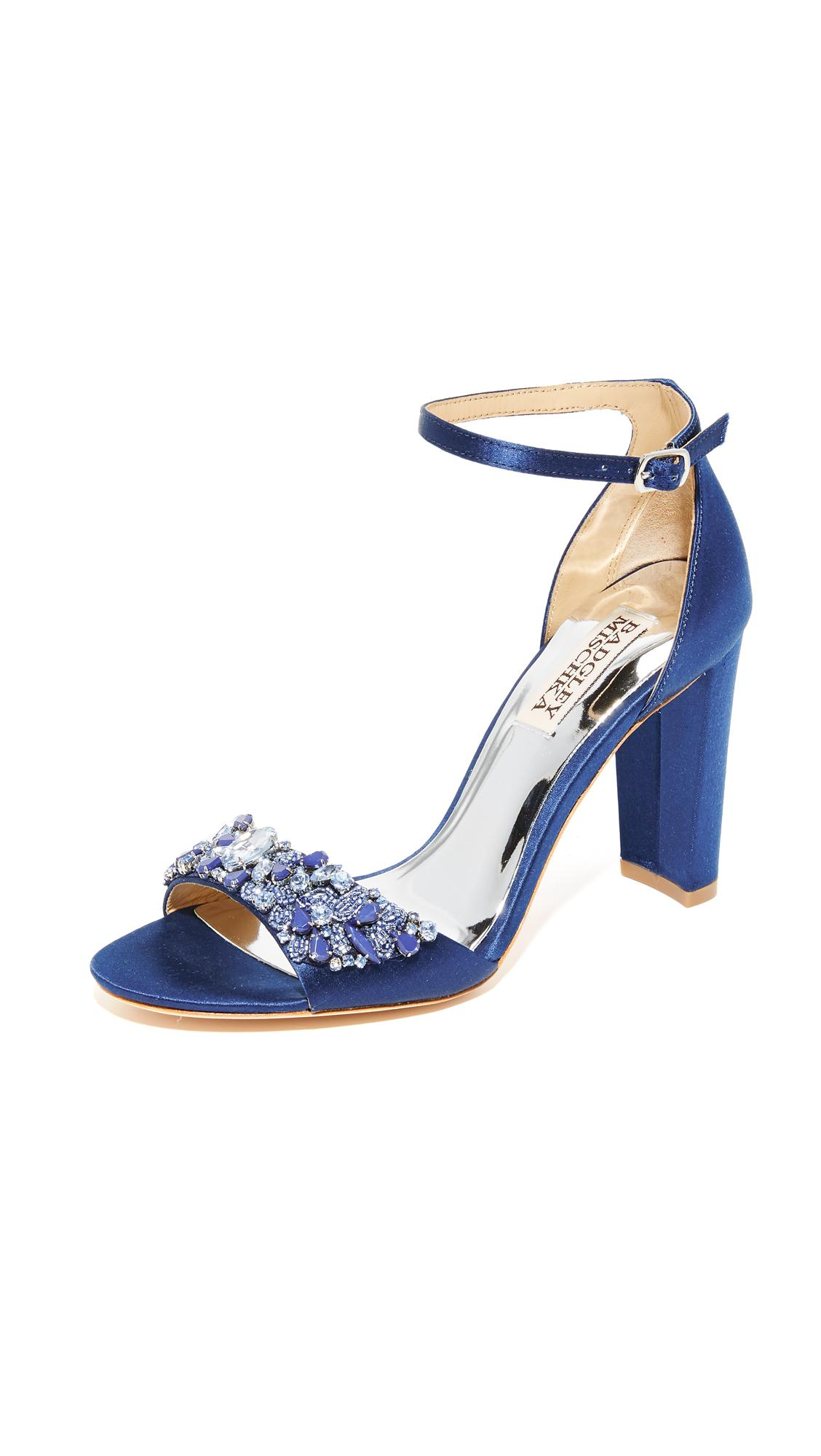 5e577f58984f Lyst - Badgley Mischka Barby Sandals in Blue