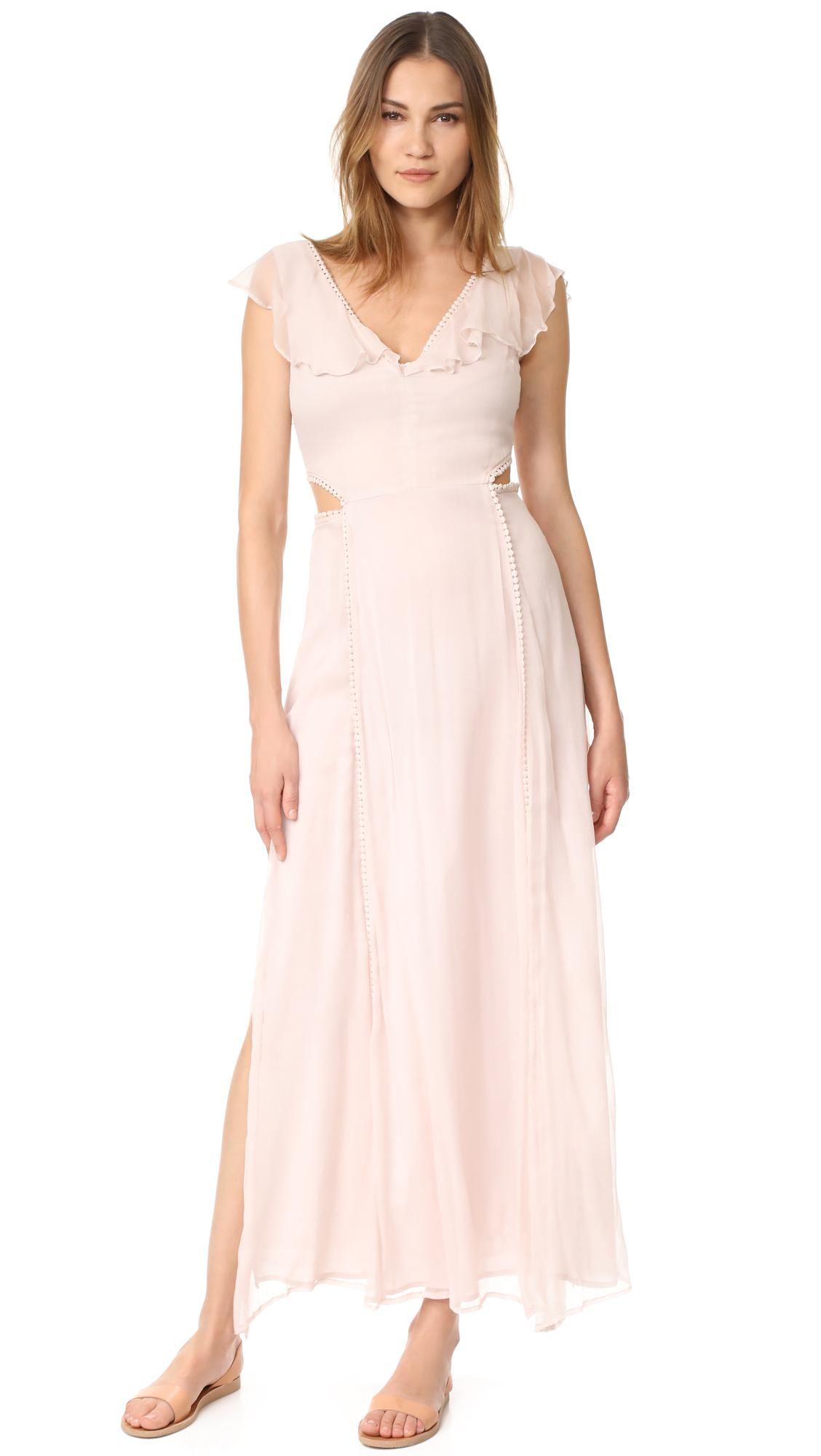 52e1f27f1171c Cleobella Auden Maxi Dress in Pink - Lyst