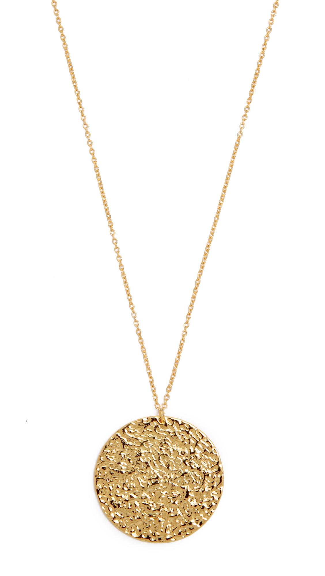 Gorjana Faye Necklace in Metallic Gold PtvgWdUjtF