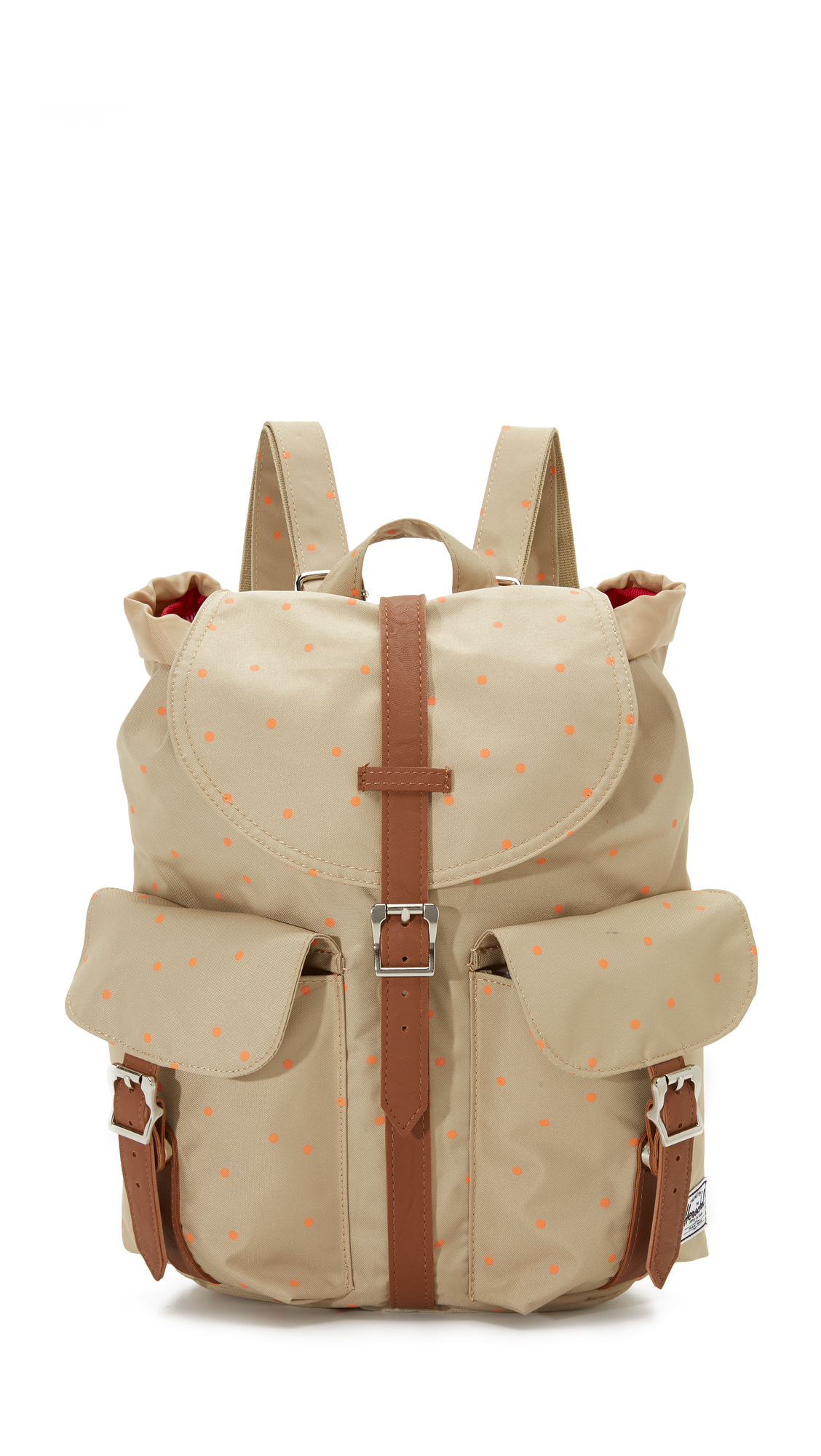 herschel supply co dawson backpack in beige khaki nectarine scatter lyst. Black Bedroom Furniture Sets. Home Design Ideas