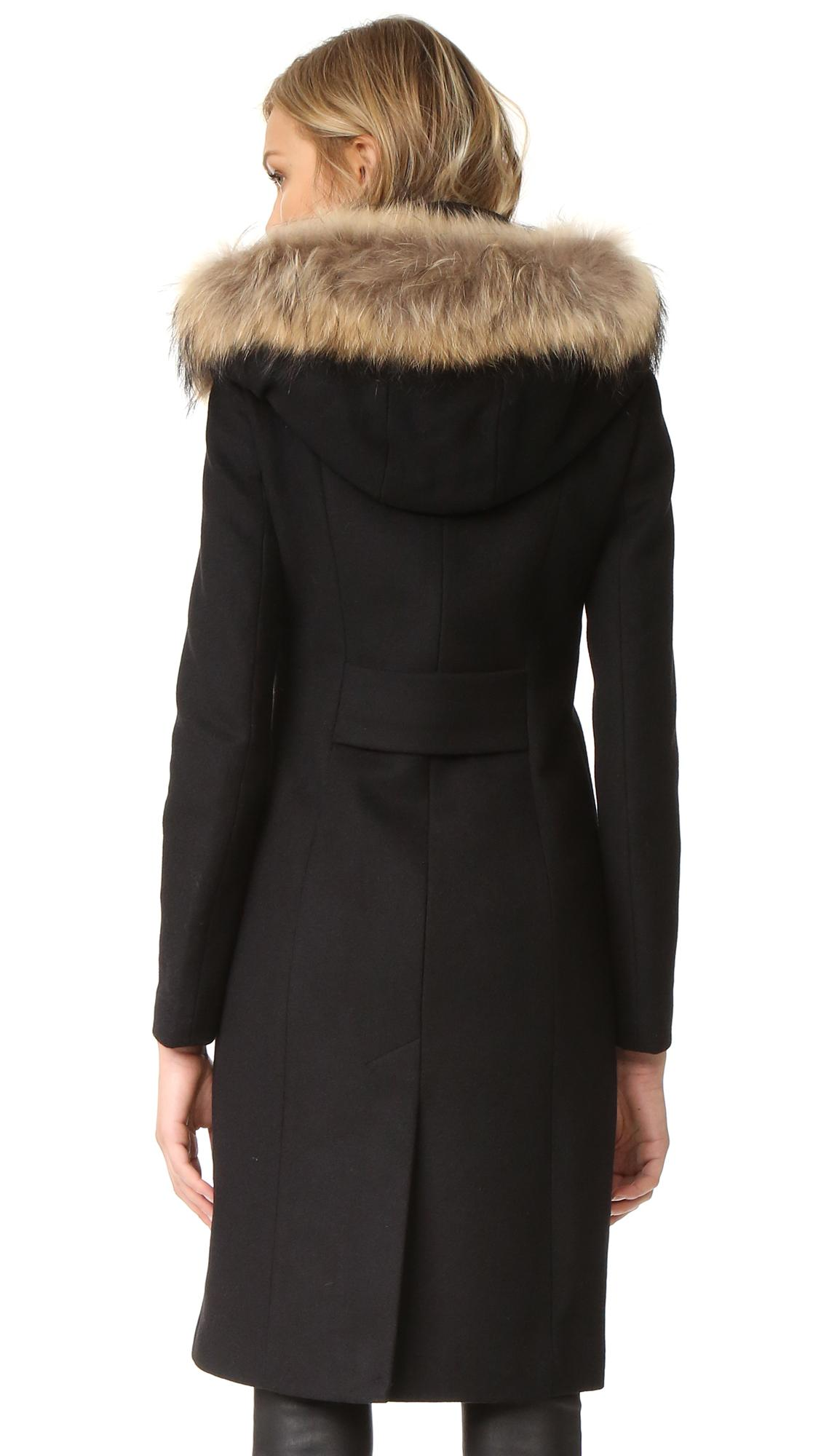 Mackage Mila Coat In Black Lyst