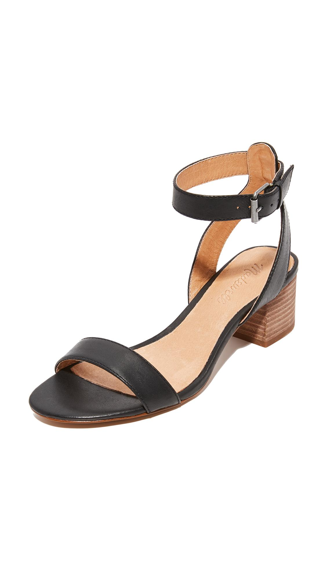Madewell Alice Sandals In Black Lyst
