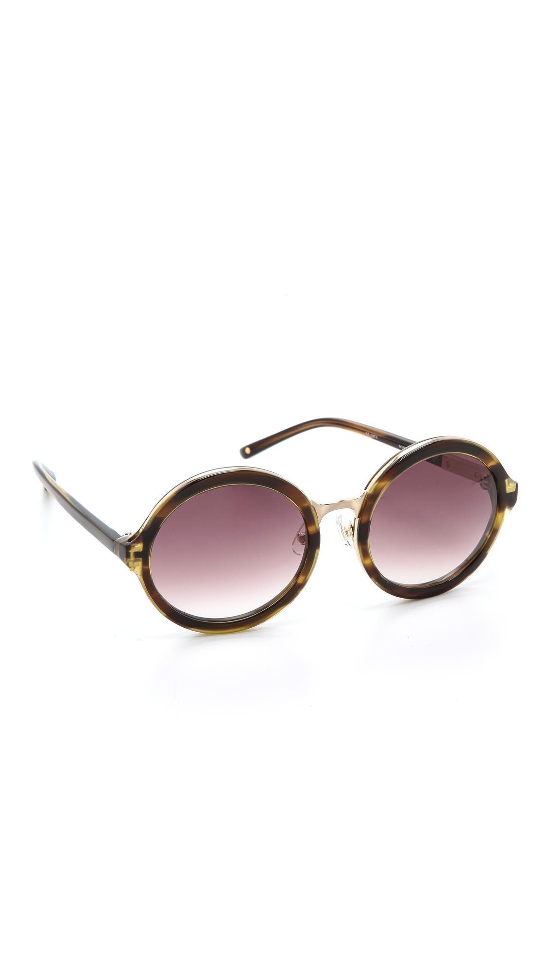 Phillip Lim Cat Eye Sunglasses