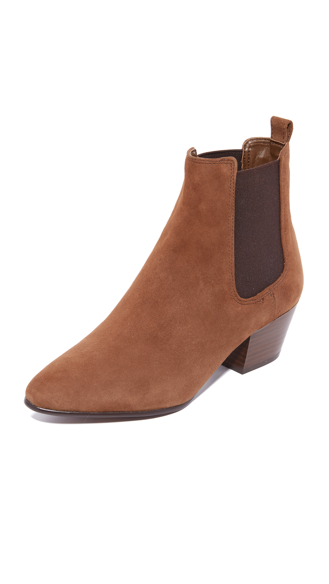 3b6a0d298 Lyst - Sam Edelman Reesa Booties in Brown