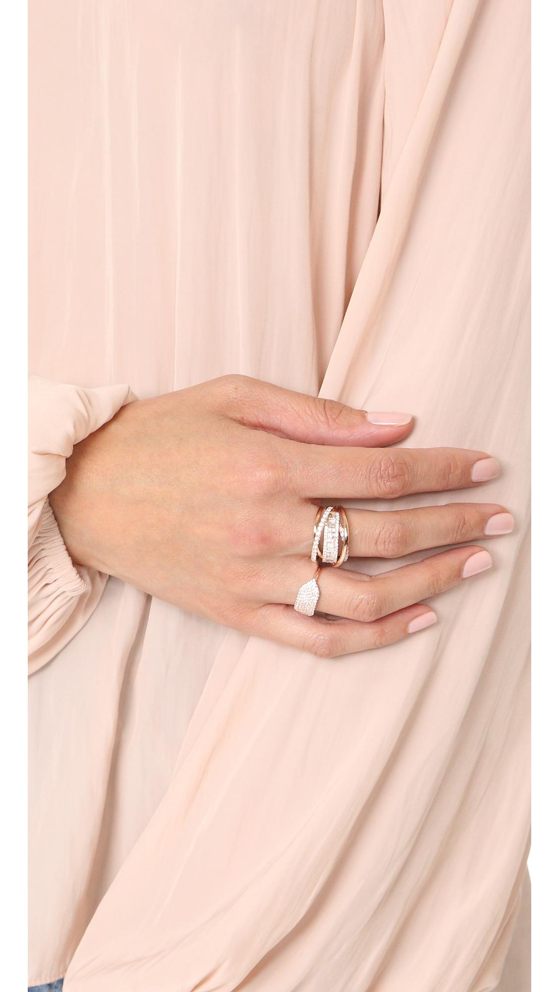 Lyst - Shay Essential Orbit Diamond Ring