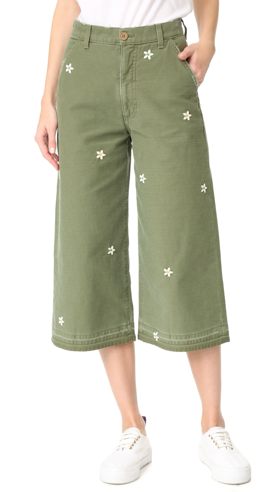 Wonderful Da Nang Womens Cropped Pants Cargo Shorts Capri Casual Walk Multi