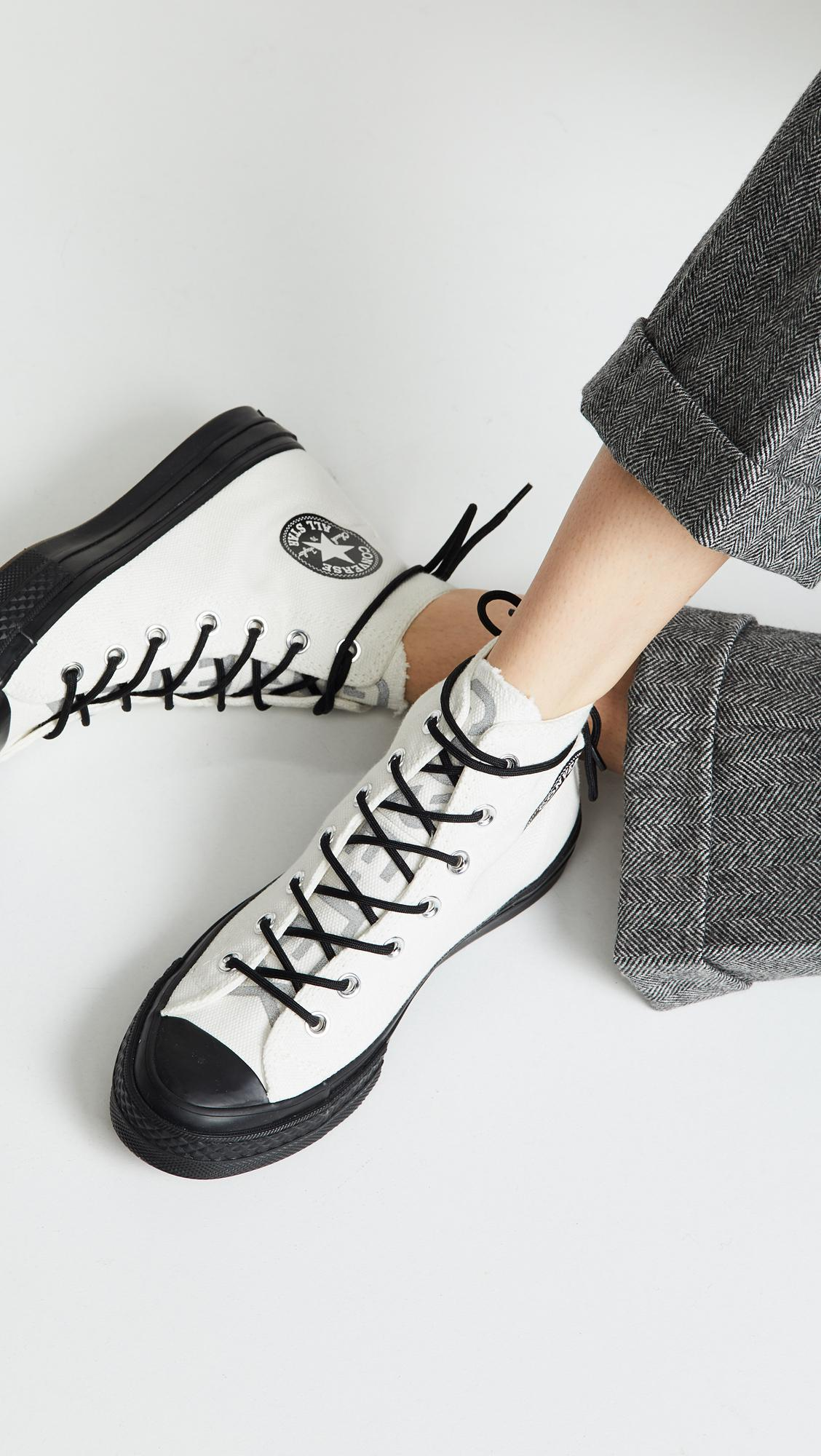 Lyst - Converse Chuck 70 Gore Tex High Top Sneakers in White bfc83dd0dc3