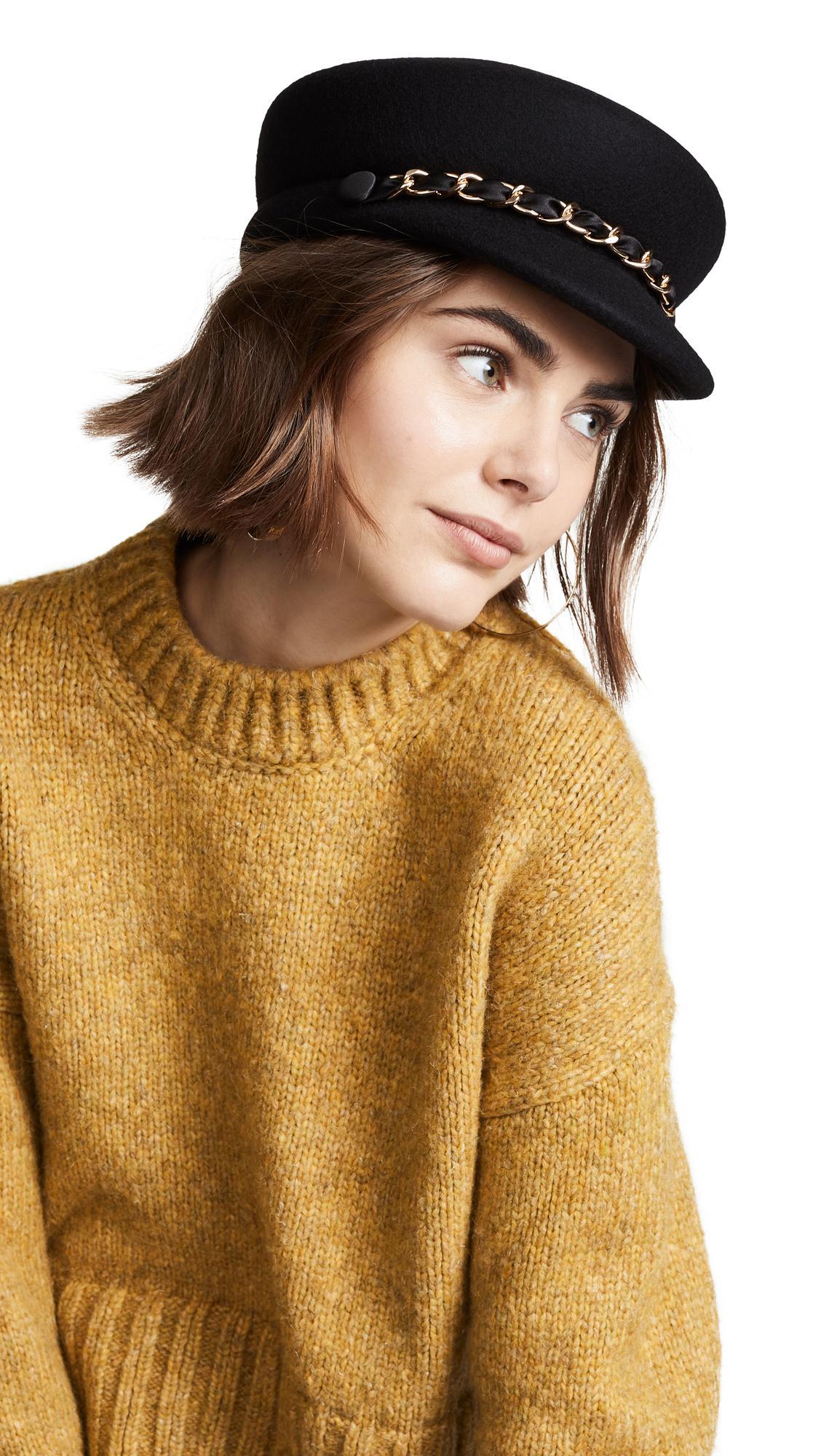 b548982a25d Lyst - Eugenia Kim Sabrina Hat in Black
