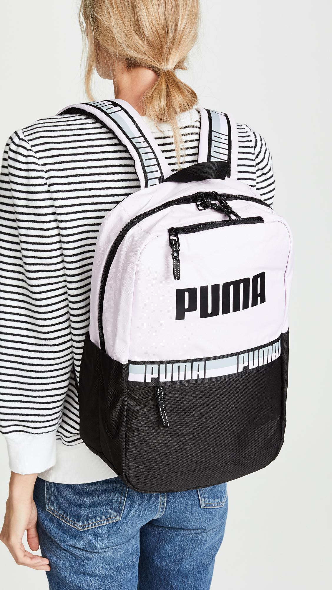 745bc3ae5953 Lyst - PUMA Speedway Backpack in Black