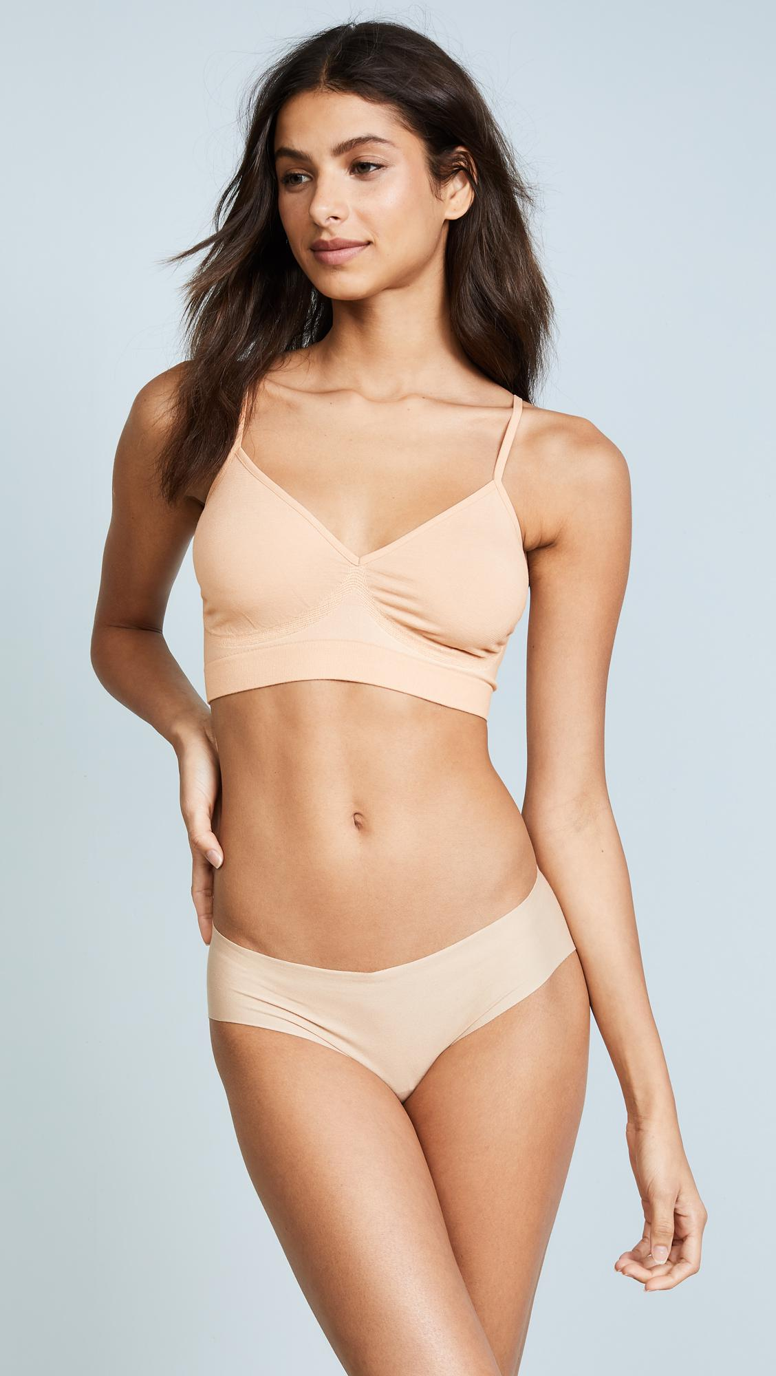 7bf784904ae86 Lyst - Yummie Audrey Seamless Day Bra in Natural