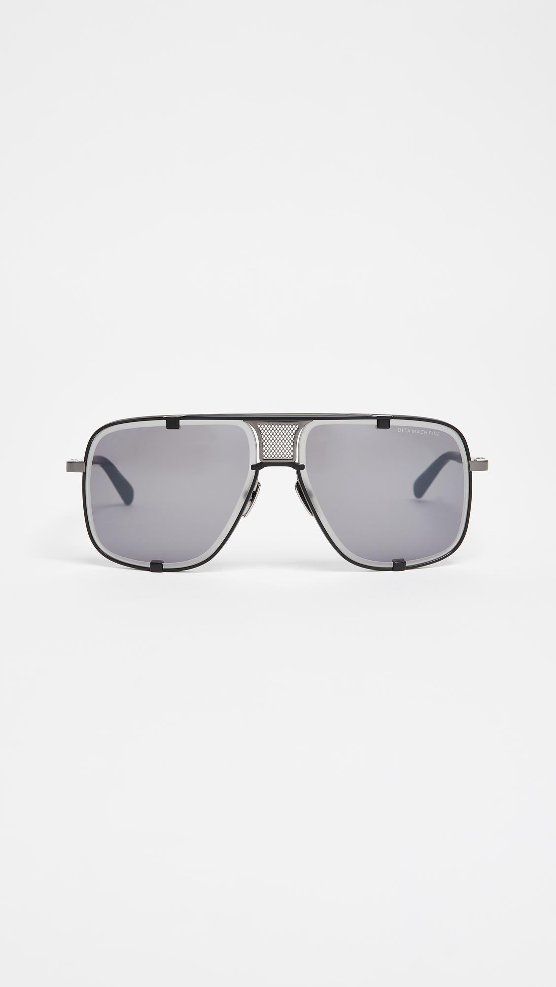2607f21295f0 Lyst - DITA Mach Five Limited Edition Sunglasses in Gray