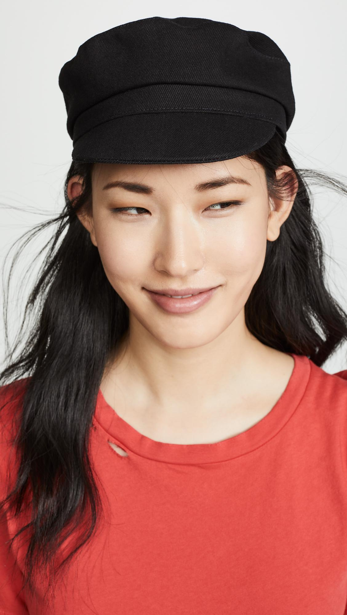 Isabel Marant - Black Evie Cotton Hat - Lyst. View fullscreen 7cf22018f9ce