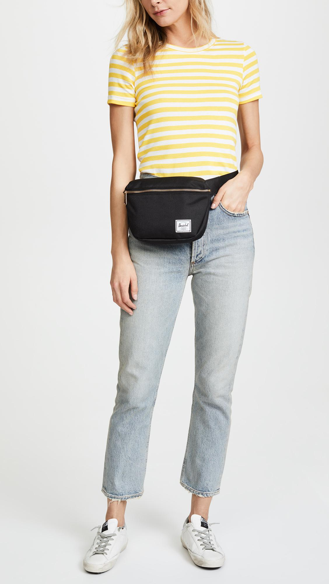 e6c1b3824c8 Herschel Supply Co. - Black Fifteen Fanny Pack - Lyst. View fullscreen