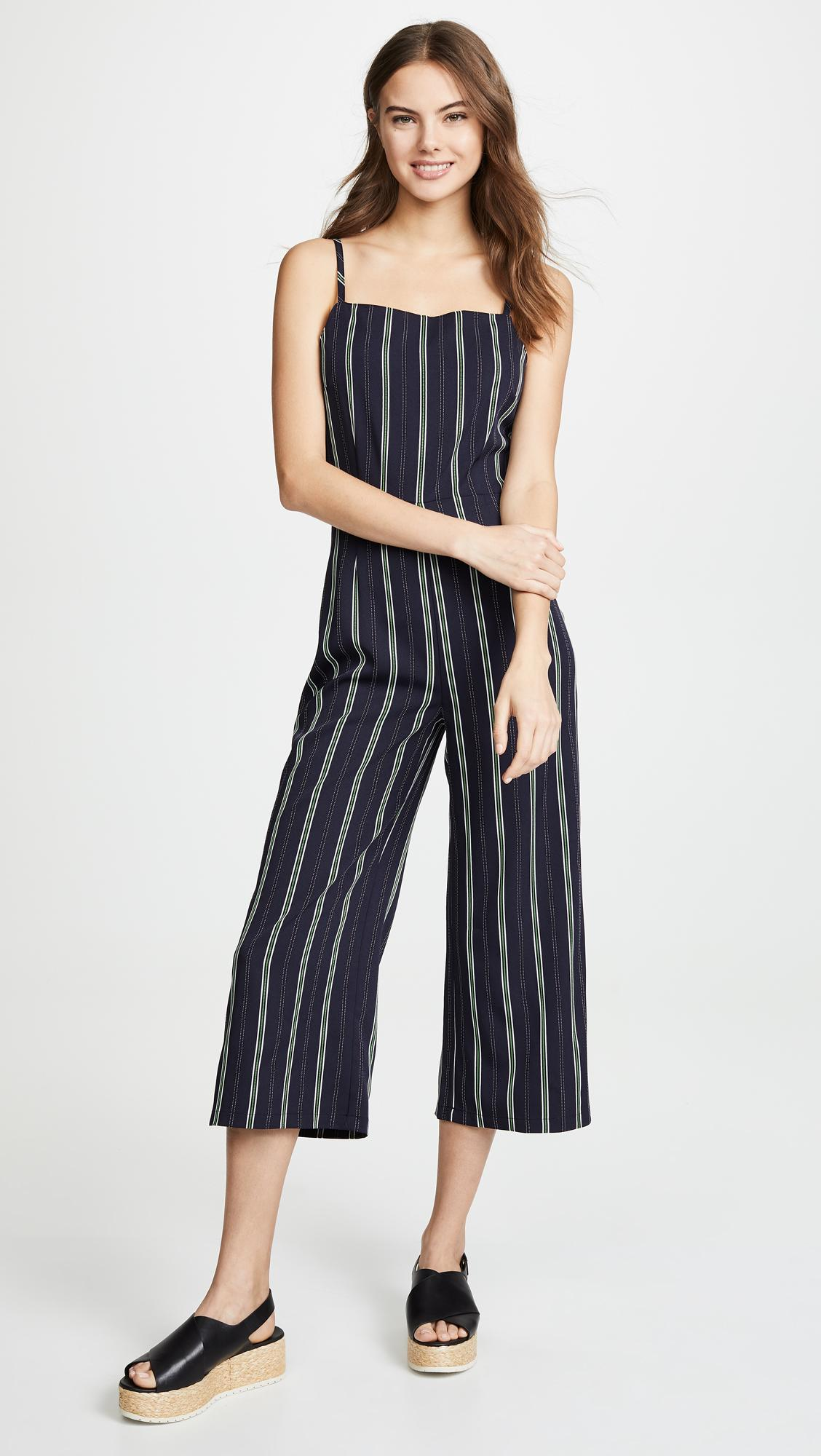 36ace3cdae24 Lyst - Cupcakes And Cashmere Avery Jumpsuit in Blue