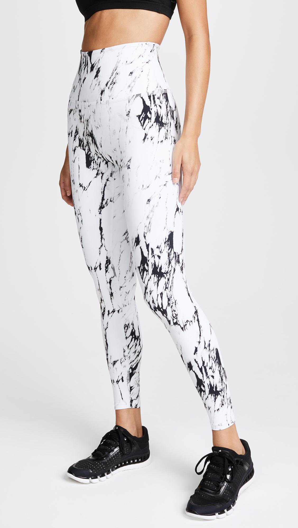 f8394a2c03f6d Beyond Yoga Olympus Leggings in White - Lyst