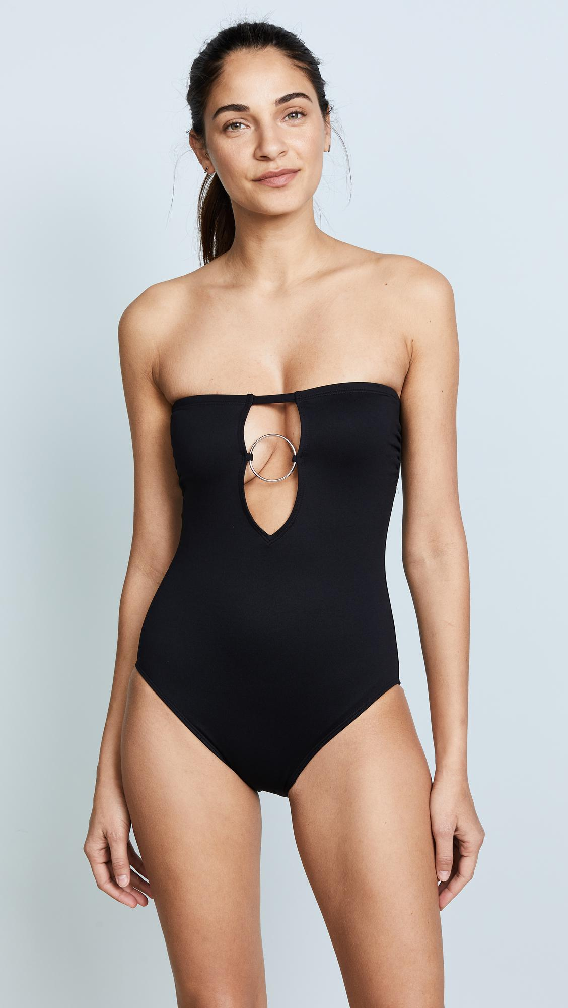 Lyst - Cushnie Et Ochs Dakota Strapless One Piece Swimsuit ...