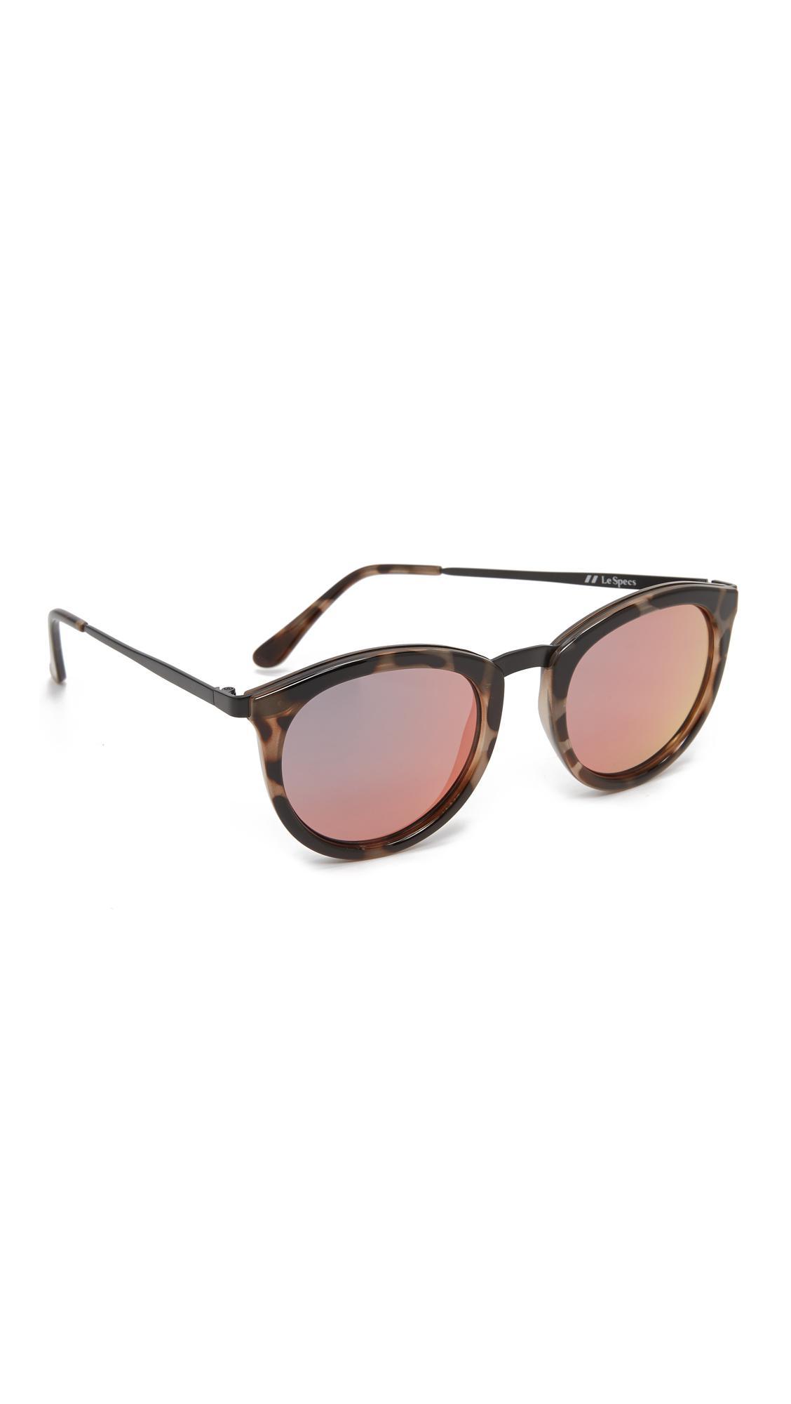 2975f06812 Le Specs - Multicolor No Smirking Sunglasses - Lyst. View fullscreen