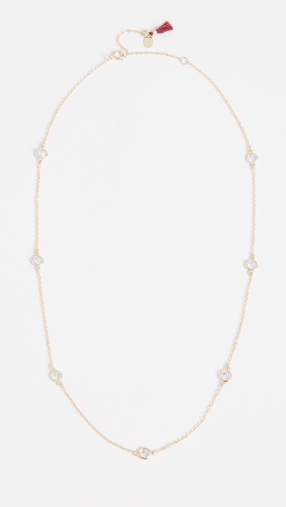 Diamond Bar Choker in Metallic Gold Shashi GRjoe8uMa