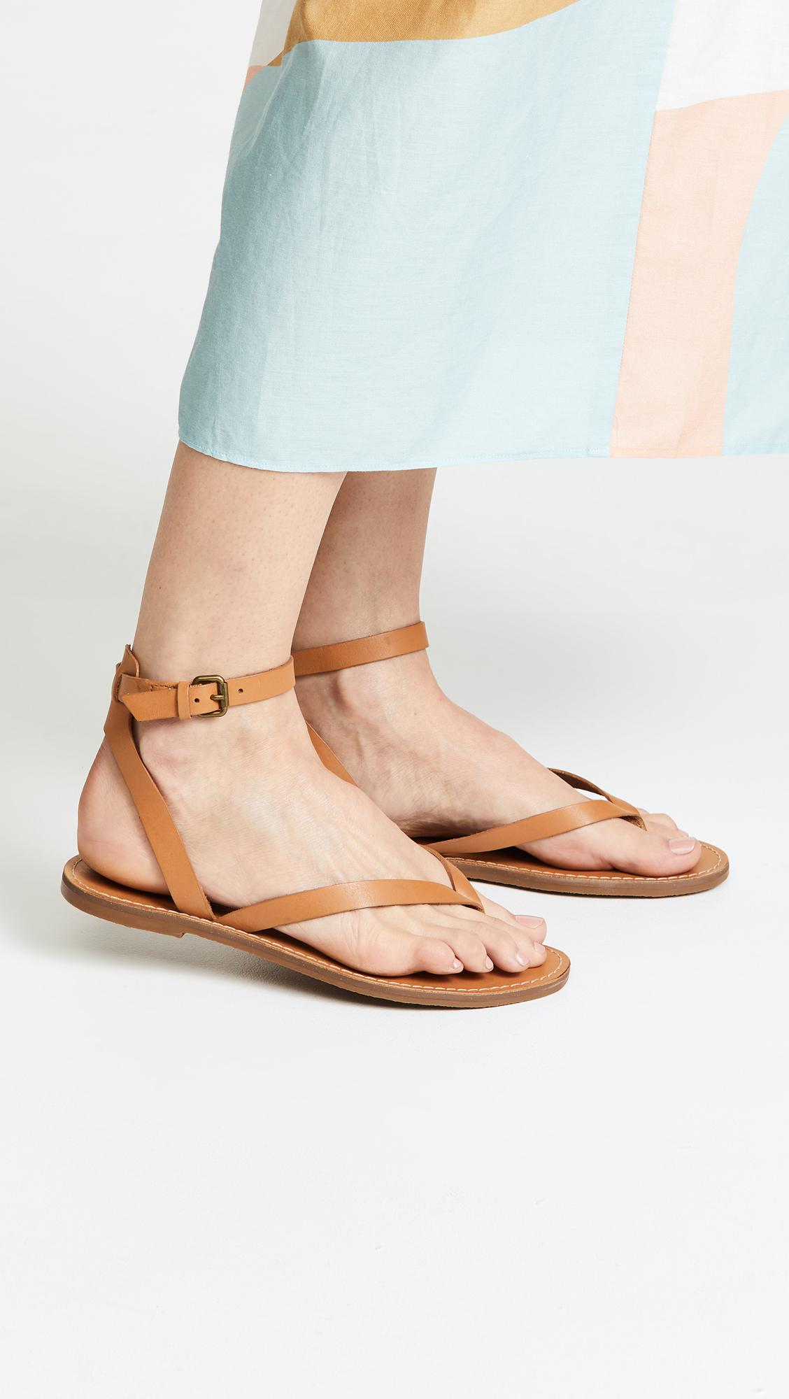 78bc08dcdab Madewell - Multicolor The Boardwalk Thong Sandals - Lyst