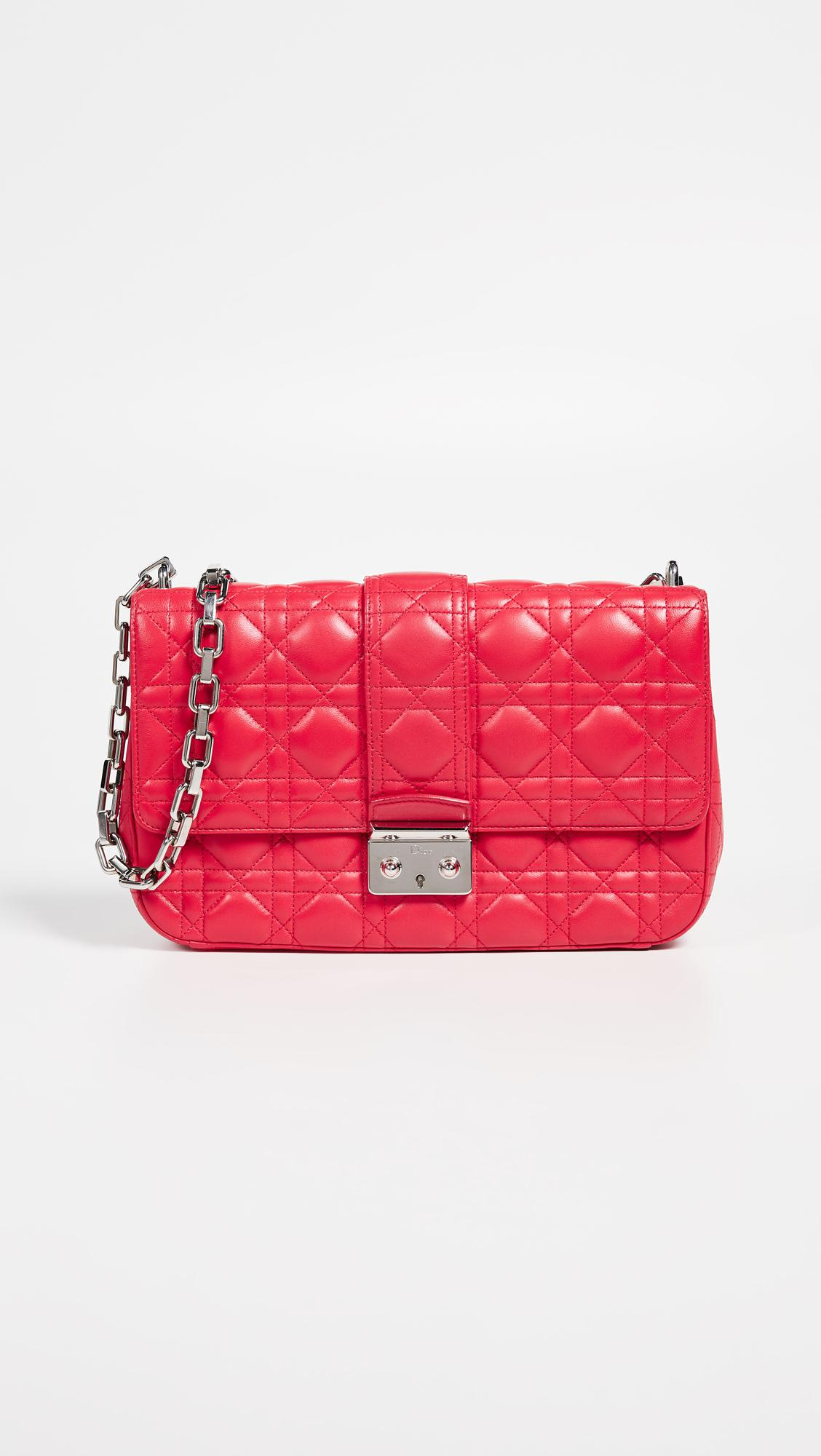 What Goes Around Comes Around. Women s Dior Pink Lambskin Miss Dior Medium  Bag f06e46d1256b5