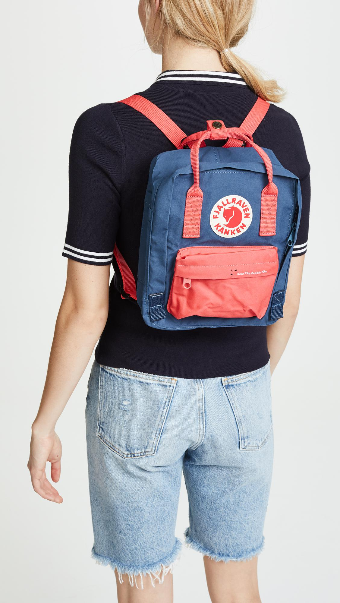 f22356cdf01 Fjallraven Save The Arctic Fox Kanken Mini Backpack in Blue - Lyst