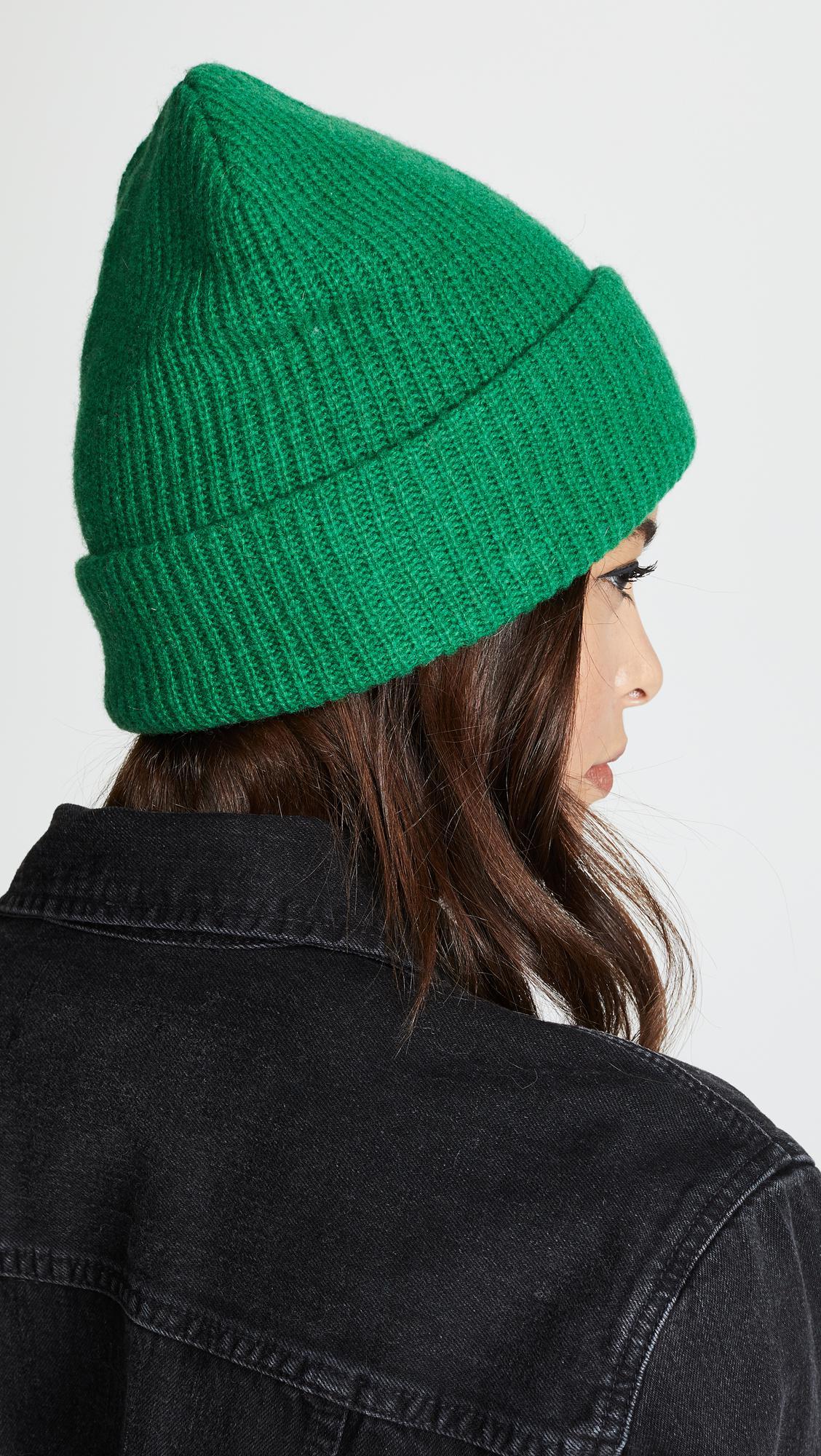 Lyst - Ganni Hatley Knit Hat 4cdc25f96cc