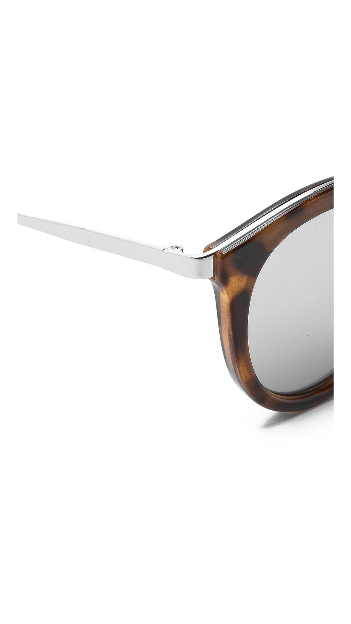 e984c4f2aa Le Specs - Metallic No Smirking Sunglasses - Lyst. View fullscreen