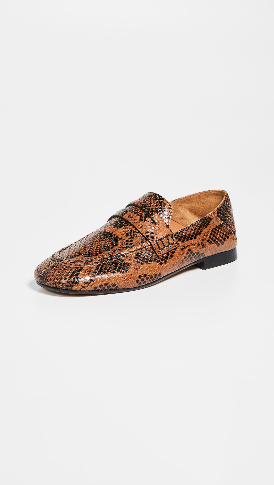 4ae10a4e458 Isabel Marant Fezzy Convertible Loafers in Brown - Lyst